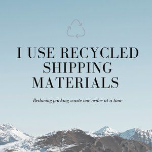 I Ship With Recycled Materials